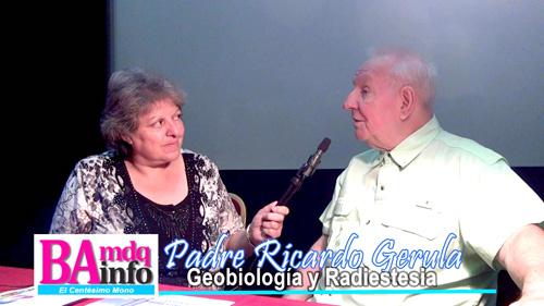 Patricia Silva entrevista al geobiólogo, radiestesista y sacerdote Ricardo Geurula