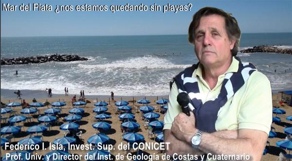 Dr. Federico Isla, Investigador Superior del CONICET y Director del Instituto de Geología de Costas y Cuaternario de Mar del Plata. | Foto: Patricia Silva.