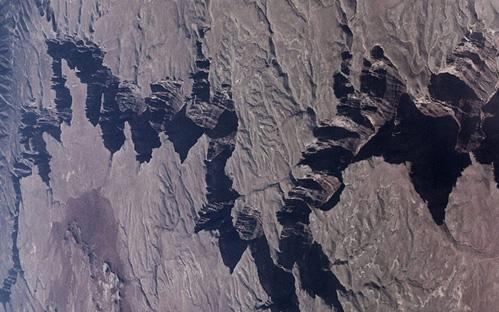 Placas tectónicas vistas desde el espacio.